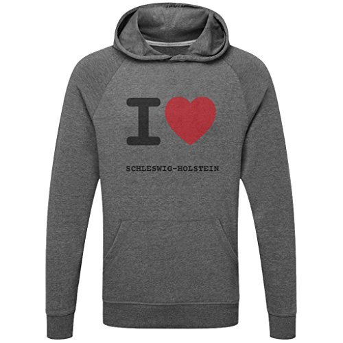 JOllify Schleswig-Holstein Functional Jumper Hoodie With High-Quality Pressure For Sport and Freetime 255g/M M