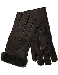Fingerhandschuhe Lammfell Handschuhe für Damen und Herren aus echtem Lammfell in Top Qualität