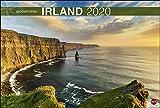 Irland Globetrotter: Von rauen Küsten und grünen Hügeln. Wandkalender 2020. Monatskalendarium. Spiralbindung. Format 58 x 39 cm