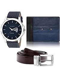 Laurels Analogue Blue Dial Men's Watch(Cp-Inc-603-Blk-0302-Vt-0209)