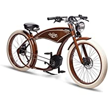 The Fian de llamada (by Ruff de Cycles) New | Bosch performancecx 500WH | Craf Ted a mano en Alemania., Unisex, The Ruffian, marrón