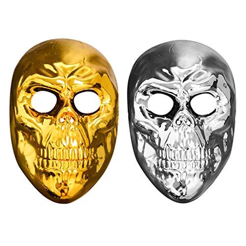 Masquerade Masks Damen Maskenspiel Frauen Sexy Augenmaske Venetian Gesichtsmaske Karneval Maskerade für Halloween Weihnachten Party (Diy Makeup Halloween Skelett)