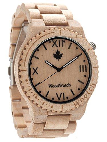 WoodWatch Orologio da uomo wootch-beige