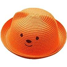 Amazon.it  cappellini da sole per bambini - Arancione 32d803f92ae3