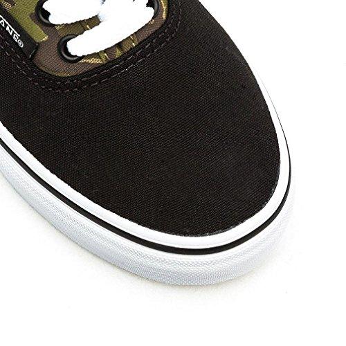 Vans K Authentic, Baskets mode mixte enfant (2 Tone Camo) Black / True White