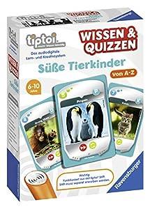 Ravensburger 00767-tiptoi Saber & quizzen: Süße Animales Niños
