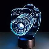 PANGUN Digital Kamera 3D Led Lichter Bunt Touch Nachtlicht Weihnachtsgeschenk