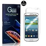 Bear Village Galaxy S3 Vetro Temperato, Nessuna Bolla Durezza 9H [0.26mm HD Alta Trasparenza] Pellicola Protettiva in Vetro Temperato per Samsung Galaxy S3-1 pezzi