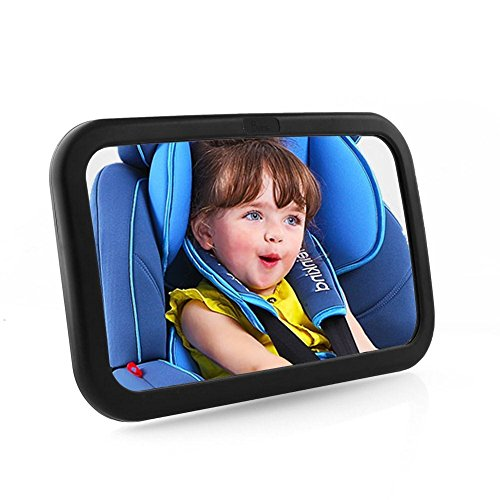 Femor espejo retrovisor de coche para vigilar al beb en for Espejo seguridad bebe