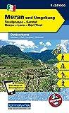 Italien Outdoorkarte 02 Meran und Umgebung 1 : 35.000: Bozen-Sarntal, Naturns, Dorf Tirol, Lana. Wanderwege, Radwanderwege, Nordic Walking, Skilanglauf, Skitouren (Kümmerly+Frey Outdoorkarten Italien) -
