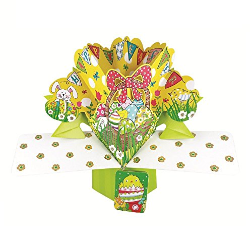 Happy Easter Pop-Up Greeting Card Second Nature 3D Pop Up Cards