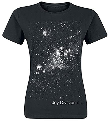 Joy Division + - Girl-Shirt schwarz XL