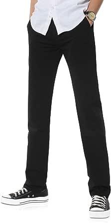 Demon&Hunter 900X Series Men's Classic-Fit Straight Leg Chinos Trousers