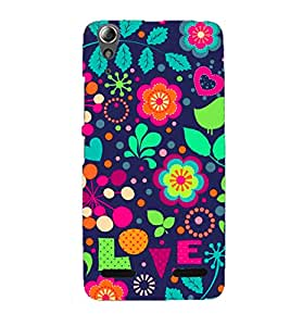 Doyen Creations Designer Printed High Qulaity Premium case Back Cover For Lenovo A6010 Plus