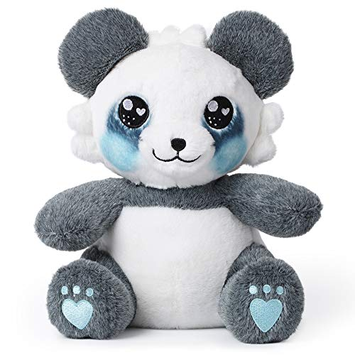 corimori Mei el Panda Animal de Peluche Juguete para Bebés y Niños 26cm, Azul, Gris, Blanco (1849)