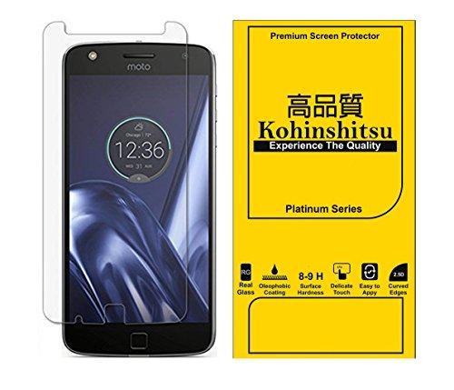 Kohinshitsu Platinum Series Screen Guard - Tempered Glass Screen Protector for Motorola Moto Z Play / Moto Z Play 2016 Model Mobile Phone