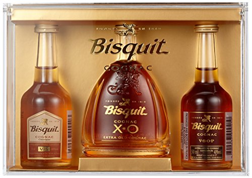 Bisquit Coffret Miniatures Set 3x0,05 (1 x 0.15 l)