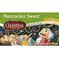 Celestial Seasonings Nutcracker Sweet Black Tea, 20 Count