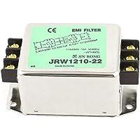 Filtro AC 115V / 250V 10A Calificación actual del metal Shell Power Line EMI