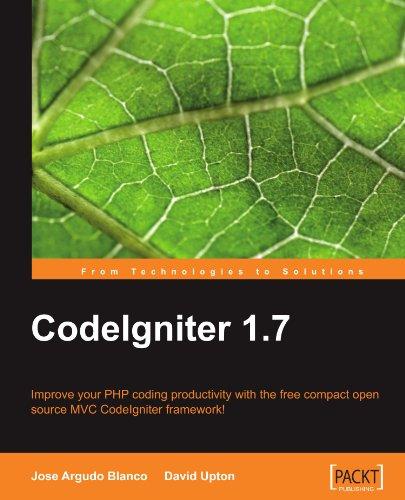 CodeIgniter 1.7 (English Edition)