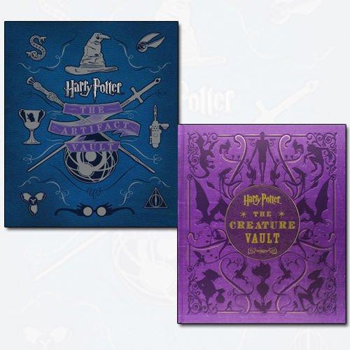 Jody Revenson Harry Potter 2 Books Bundle Collection (The Artifact Vault, The Creature Vault)