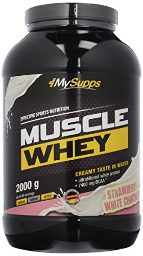 My Supps Muscle Whey 2kg Strawberry-White Chocolate