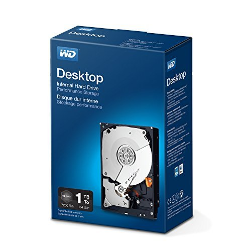 WD 1 TB Desktop RETAIL ,blau
