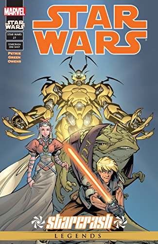 This issue, meet Jedi Yoshi Raph-Elan. On his way to a meeting of Jedi, Yoshi is attacked by an unknown enemy. Stranded without even a lightsaber, he must find out what this new threat wants. Along the way, he meets the beautiful princess Lourdes, an...