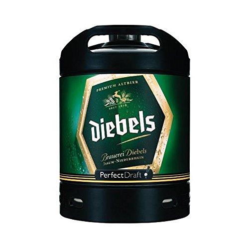 Diebels Altbier Perfect Draft (1 x 6l) inkl. 5,00 Euro Pfand MEHRWEG