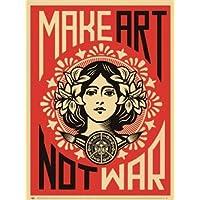 Shepard Fairey – Fare arte non la guerra Stampa Artistica (45,72 x 60,96 cm)