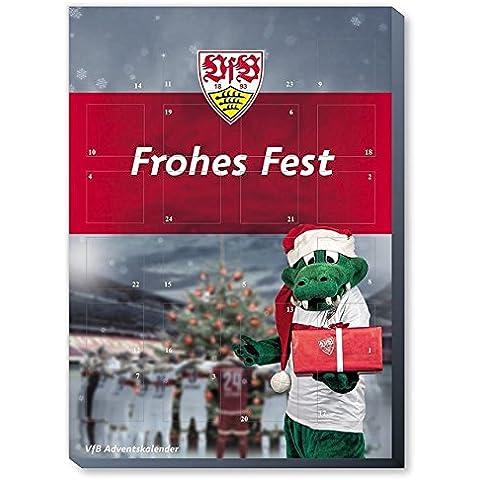 VfB Stuttgart Kalender, Adventskalender, Weihnachtskalender - Fairtrade-zertifiziert ©