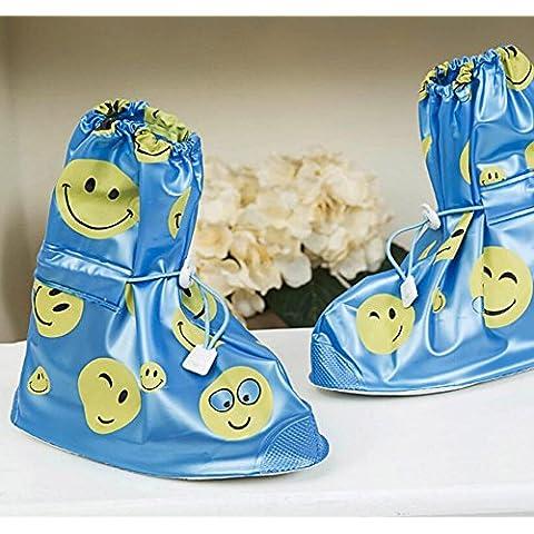 Highdas Scarpe Coperture impermeabili Bambini pioggia Copriscarpe Protezioni