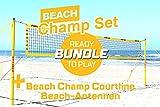 Funtec Bundle: Beach Champ Set + Beach Champ Courtline + Netzantennen