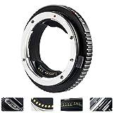 VILTROX EF-GFX - Adaptador de Montura para Objetivos Canon EF Eh-S, para cámaras Fuji GFX-Mount de Formato Medio FUJIFILM GFX 50S GFX 50R