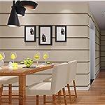 HM Papel pintado moderno minimalista mármol patrón de rayas horizontales rollo de papel tapiz 3D para sala de estar/dormitorio/TV pared/tienda de ropa/restaurante