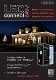 Lumineo 494889 Connect Starter Set 24V 384 LED gesamt 8 verschiedene Leuchtprogramme inkusive Trafo