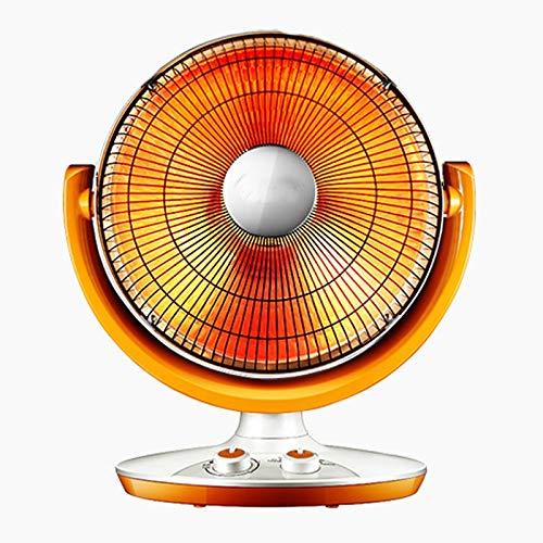 Heizung, Haushaltsheizung energiesparende elektrische Ventilator Bratofen große Desktop elektrische Heizung Heißluftheizung Ofenheizung 370mm × 275mm × 560mm orange (Farbe : Orange)