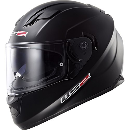 LS2 103201011M FF320 Casco Stream Solid, Color Negro Mate, Tamaño M
