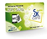 SafeKeeper Card mobile Tarjeta NFC Password Manager y Control Parental para móviles y Tablets Android con tecnologia NFC. Galaxy, Huawei, LG Nexus, Motorola, Xperia, iPhone 11