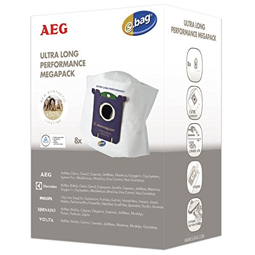 AEG GR210M s-bag Megapack für u.a. AEG UltraOne, UOgreen, VX9, Inhalt: 8 s-bag GR210 Staubbeutel, 1 Motorfilter, 1 Mikrofilter