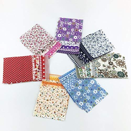 30 Stück/Lot 10 cm x 10 cm Charm-Pack Baumwollstoff Patchwork Stoff Nähen DIY Quilting Farbe zufällig -