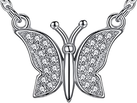 SaySure - 925-sterling-silver Trendy Design Large Butterfly