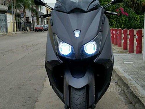 KIT BI-XENON MOTO H11 6000K 35 WATT CENTRALINE SLIM ADATTO PER YAMAHA TMAX 530 x ANABBAGLIANTE + ABBAGLIANTE TUTTO XENON T-MAX