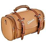 Tasche/Koffer SIP Classic, klein, für Gepäckträger, 330x190x180 mm, ca. 10 Liter, Nylon, braun