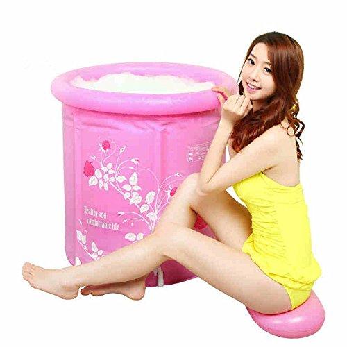LIVY Erwachsene Badewanne Plastikfaß Wanne aufblasbare Badewanne verdickt Faltung nehmen die Kinder ein Bad-Fass