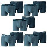 PUMA Herren Basic Boxer Boxershort Unterhose 10er Pack, Denim, XXL