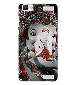 EPICCASE Lord Ganesh Mobile Back Case Cover For Vivo V1 Max (Designer Case)