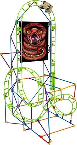 K'NEX 33868 - Thrill Rides - Cobra'S Coil Roller Coaster - 201 Pieces - 7+ - Bau- und Konstruktionsspielzeug Knex Bausatz