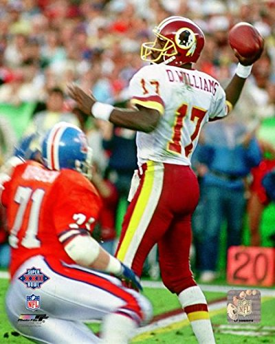 The Poster Corp Doug Williams Super Bowl XXII 1988 Action Photo Print (20,32 x 25,40 cm) -