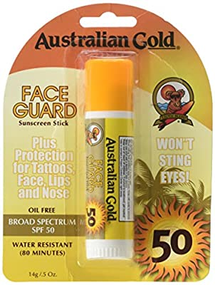 Australian Gold Face Guard